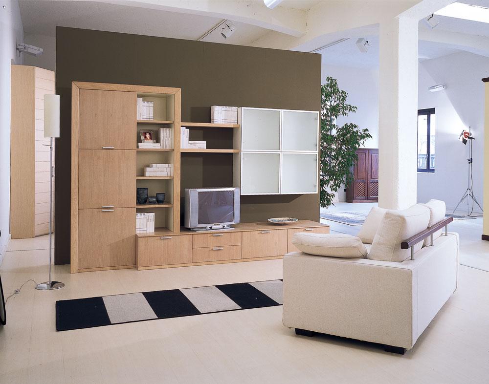 Arredamento soggiorno moderno milano mf arredamenti for Arredo soggiorno
